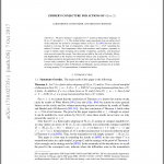 What's new on the ArXiv: Zimmer's conjecture for actions of SL(m,Z)
